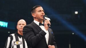 Justin Roberts Talks Creative Freedom He Has Ring Announcing In AEW