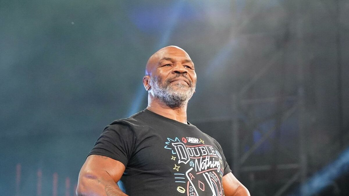 Mike Tyson Announced For AEW Dynamite This Wednesday