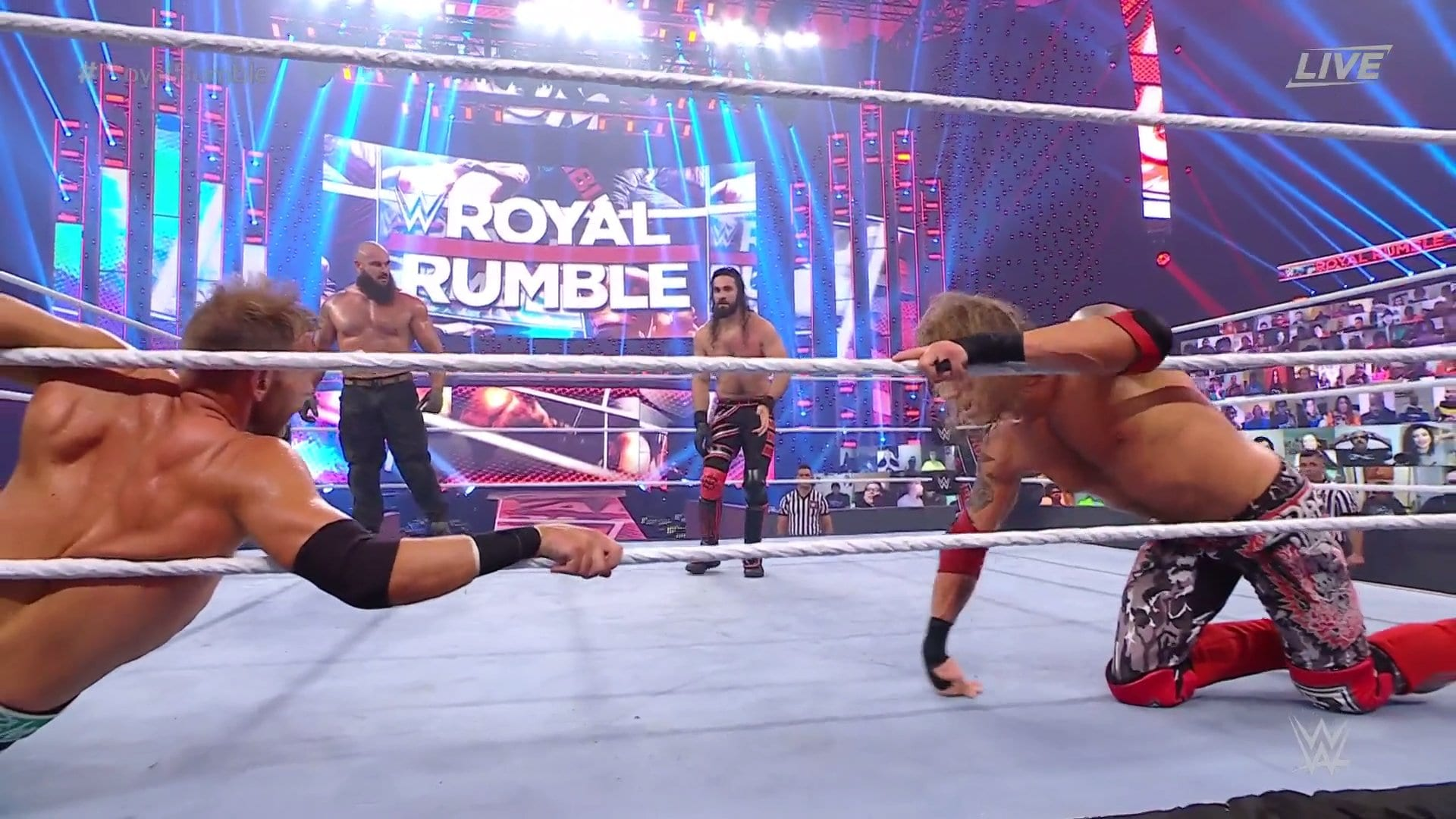Men's WWE Royal Rumble Order Of Entrants And Eliminations, Seth Rollins Returns