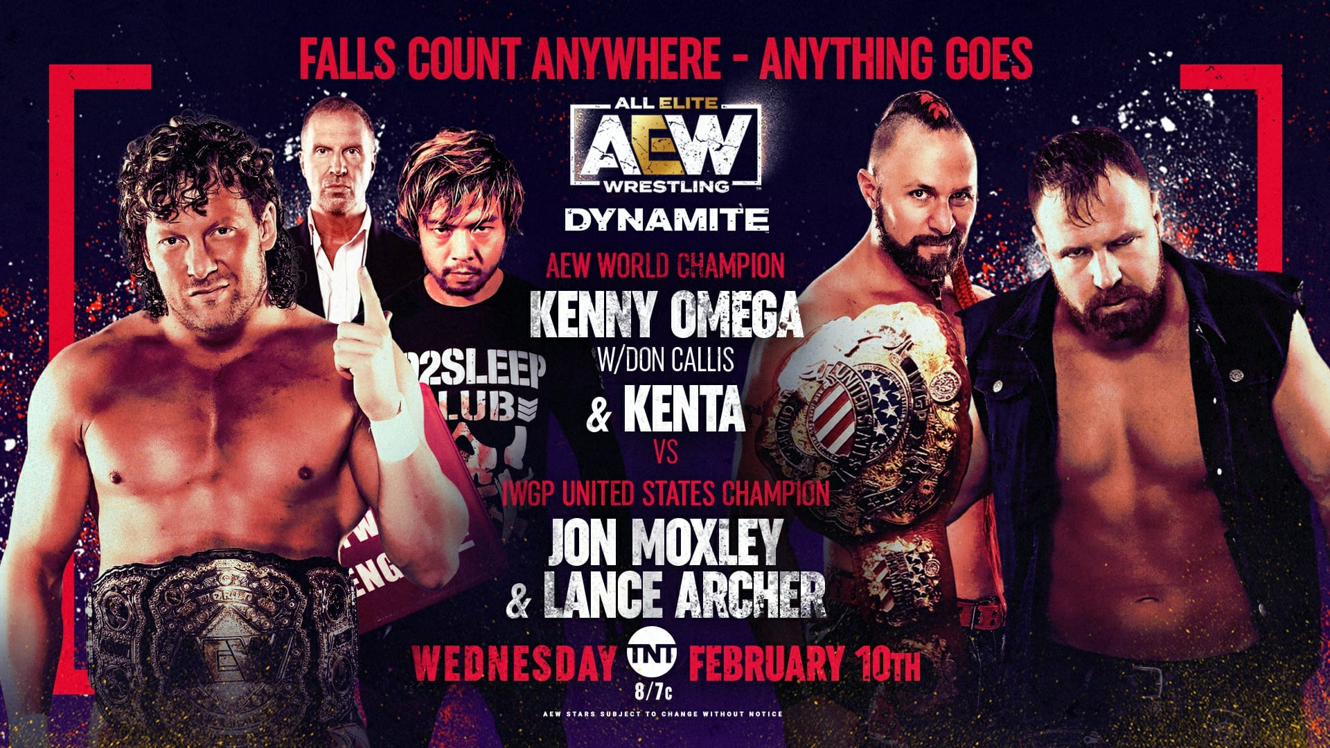 AEW Dynamite Results: KENTA And Kenny Omega Vs. Jon Moxley And Lance Archer
