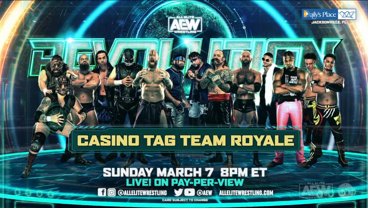 Two New Matches Announced For AEW Revolution