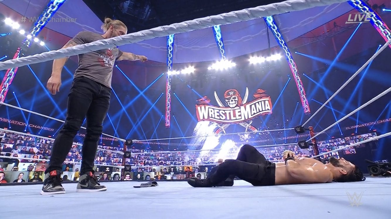 Edge On Who He Expected To Face At WrestleMania, When Triple Threat Was Decided