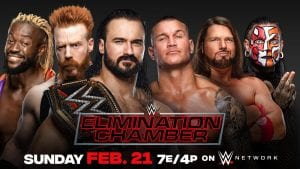 WWE Elimination Chamber Final Card For Tonight, Live Coverage Reminder