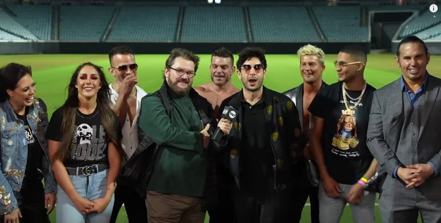 Tony Khan Says AEW Blood & Guts Will Have Over 1500 Fans, Touring Resuming Soon