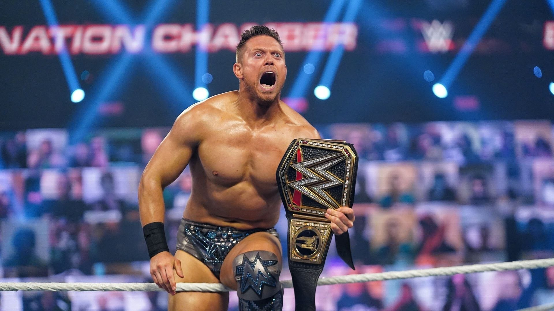 The Miz Cashes In Money In The Bank To Win The WWE Title At Elimination Chamber
