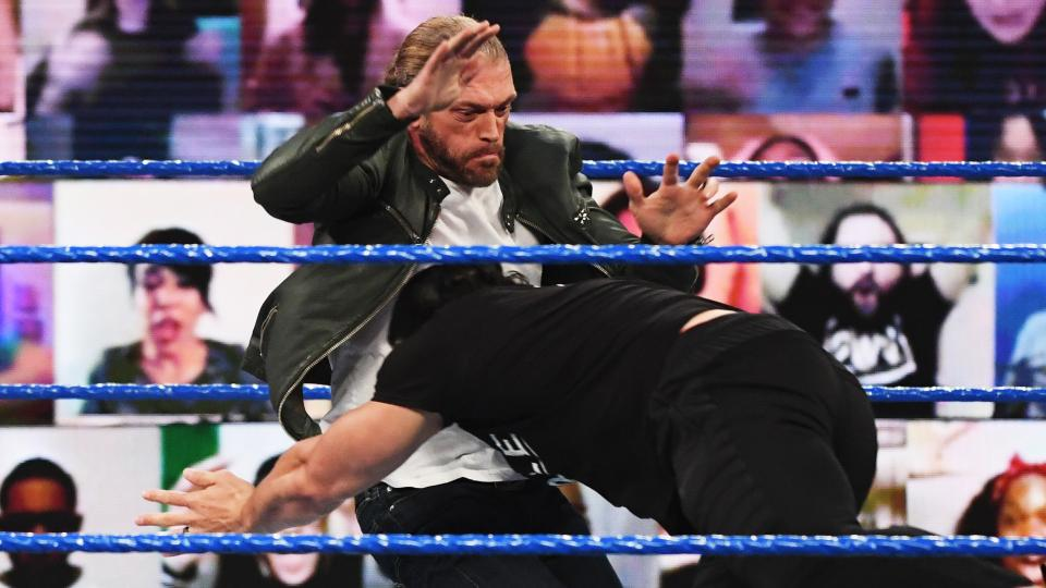 WWE SmackDown Results – Edge Appears, Seth Rollins, Elimination Chamber Go-Home Show, More