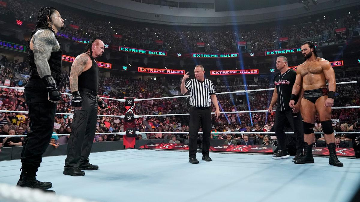 """The Undertaker On Roman Reigns And Drew McIntyre: """"Those Are Two Legitimately Great Stars"""""""