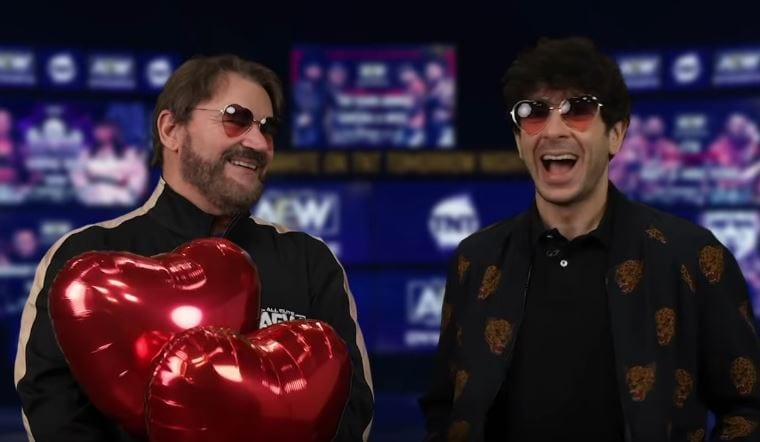"""Tony Khan Talks His """"Valentine's Gifts"""" For Impact Wrestling And Kenny Omega"""