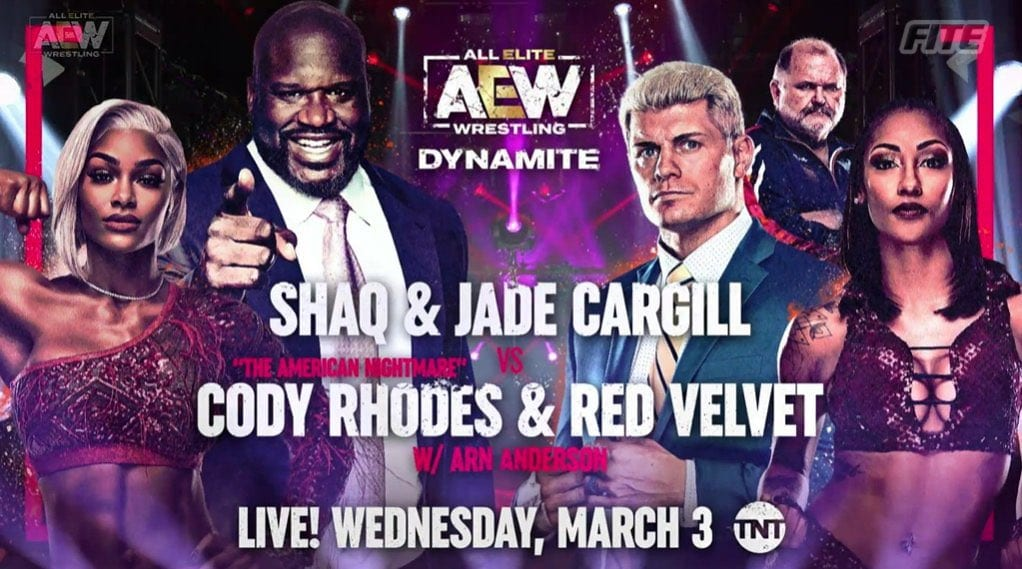 Cody Rhodes On Who Shaq Has Been Training With