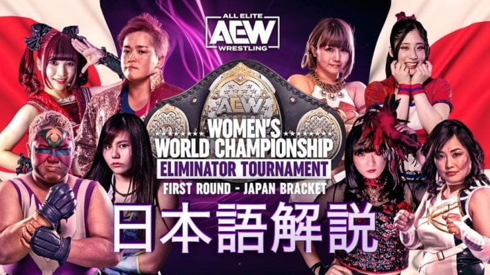 AEW Women's Title Eliminator Tournament Results: First Round Matches From Japan