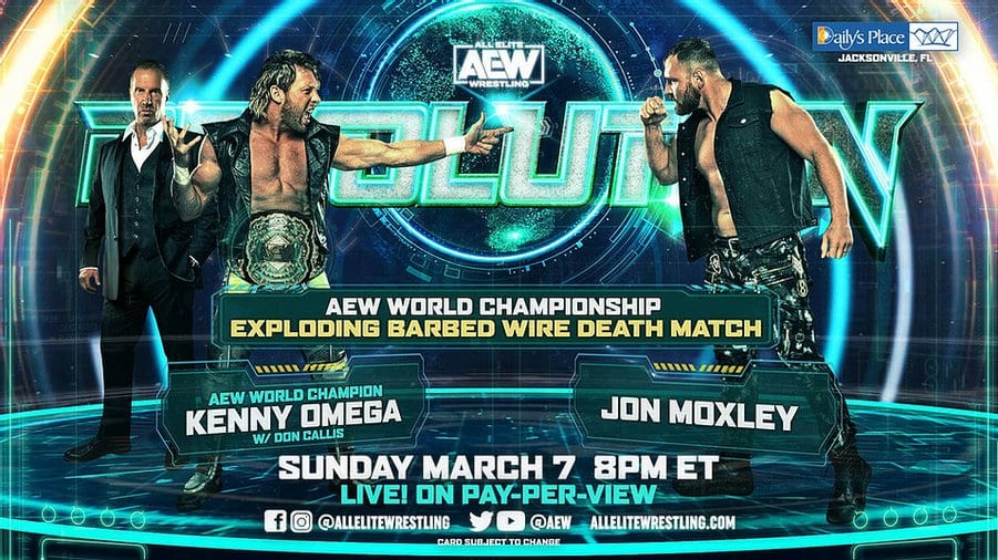 Kenny Omega Reveals Rules For Exploding Barbed Wire Deathmatch At AEW Revolution