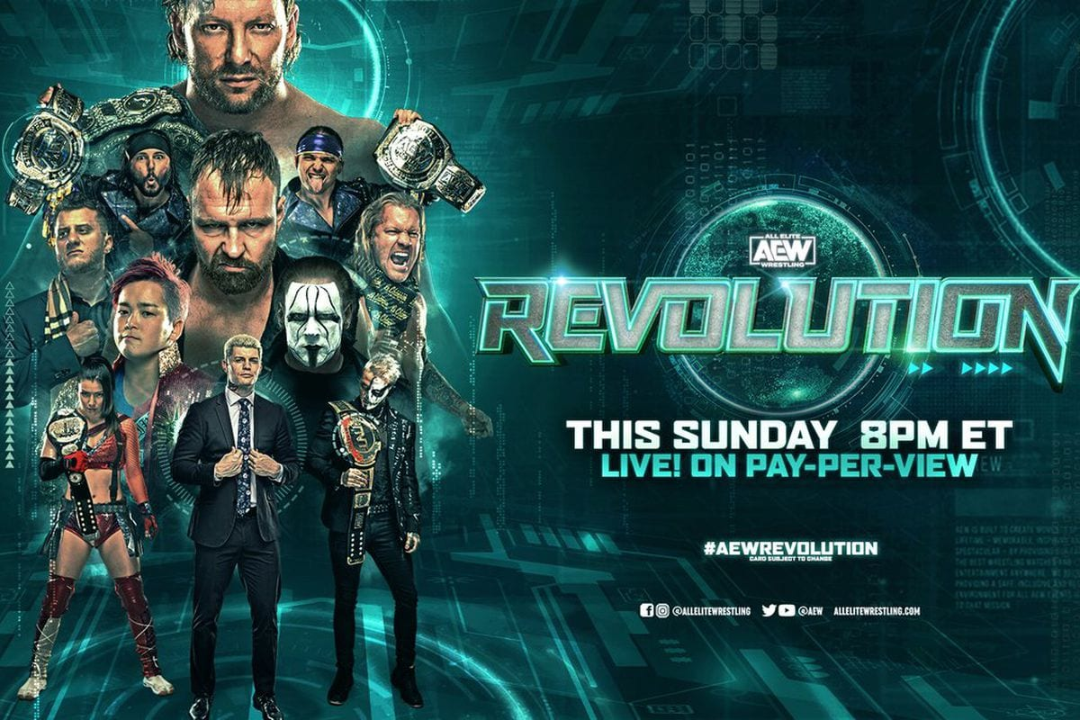 AEW Revolution Results: Exploding Barbed Wire Deathmatch, Sting, Big Signing