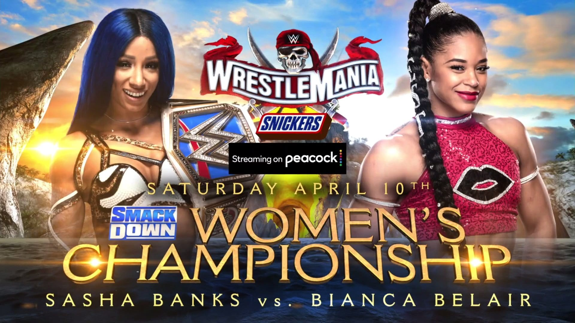 Hashtag For Sasha Banks Vs. Bianca Belair To Headline WrestleMania 37 Night One Trends