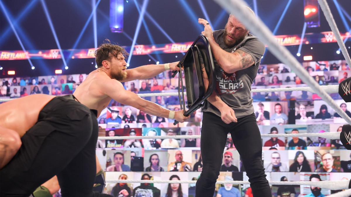 WWE Reportedly Making Major Change To Top WrestleMania 37 Match