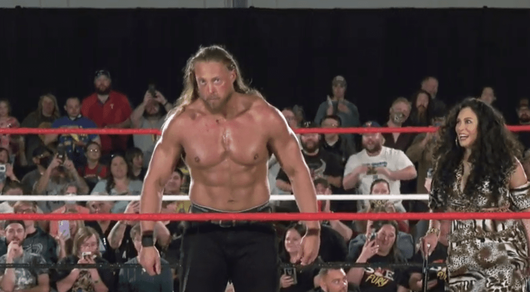 Videos: Big Cass Debuts As Melina's Surprise At SWE Fury TV Taping