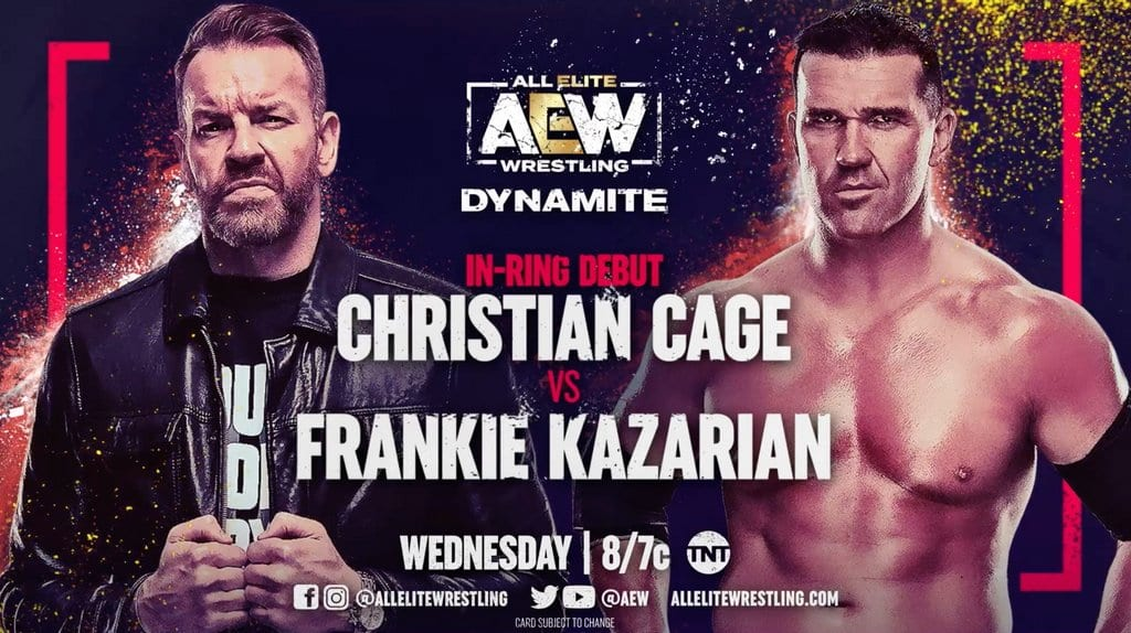 AEW Dynamite Results: Christian Cage Makes In-Ring Debut