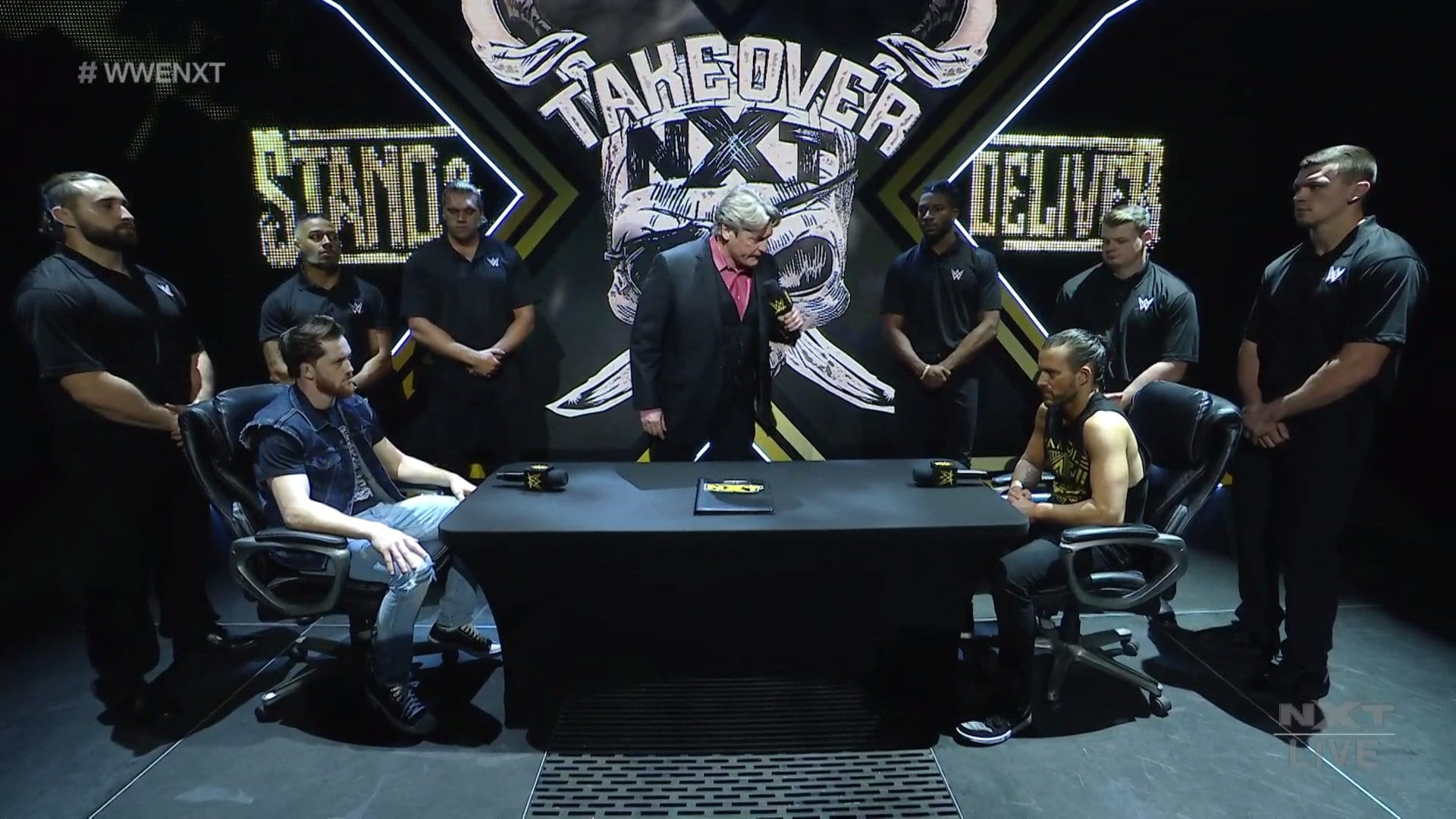 """Big WWE NXT """"Takeover: Stand And Deliver"""" Match Revealed, Ladder Match Stipulation Added"""