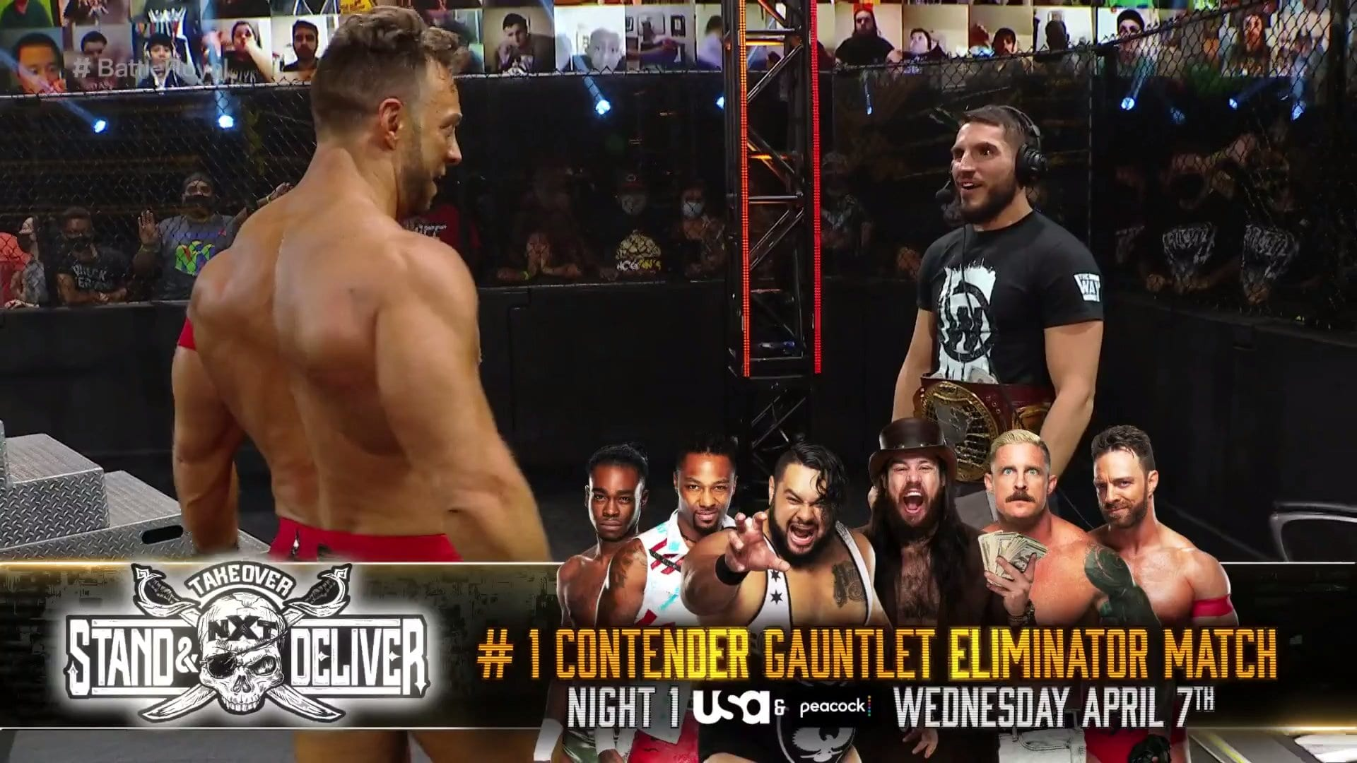 """WWE NXT """"Takeover: Stand And Deliver"""" Gauntlet Eliminator Revealed, New Singles Match"""