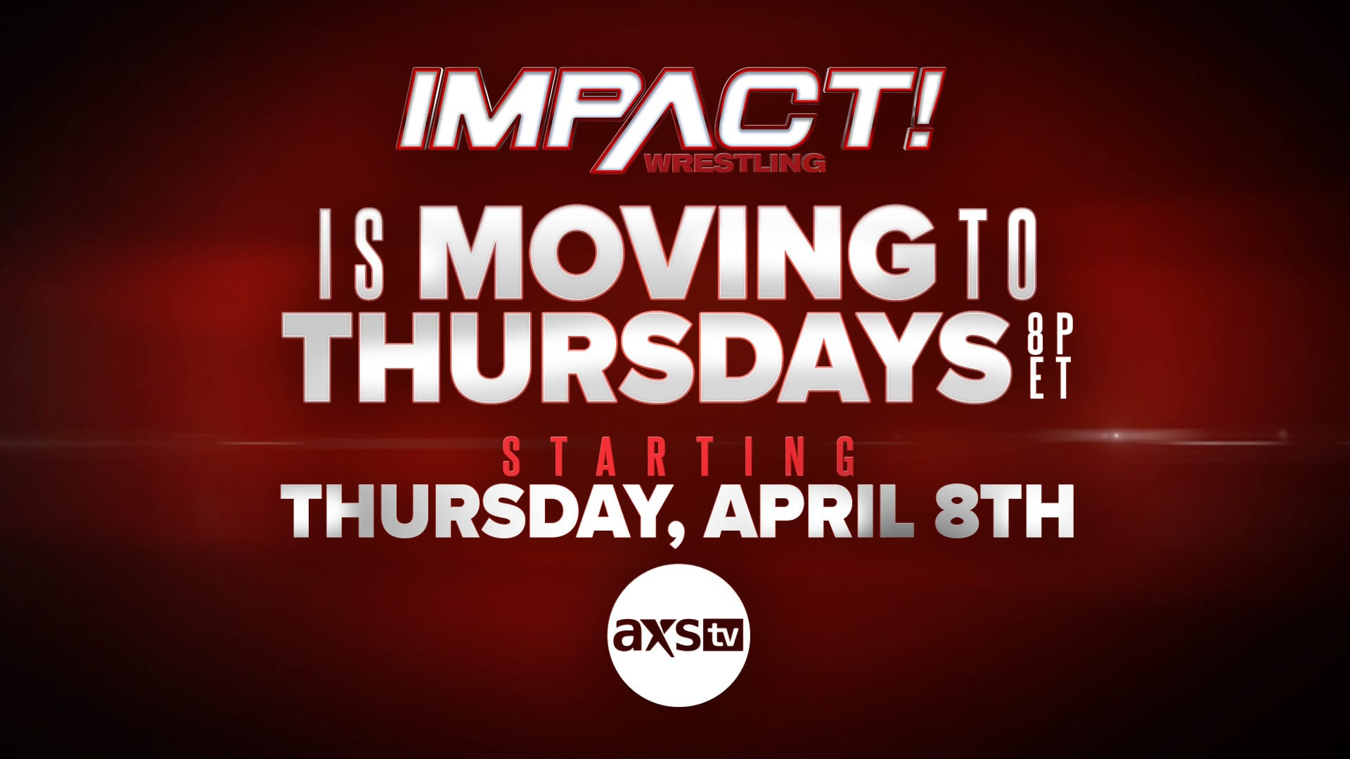 Impact Wrestling Moving To Thursday Nights