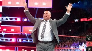 "Kurt Angle Recalls What Vince McMahon Told Flight Attendant On ""Plane Ride From Hell"""
