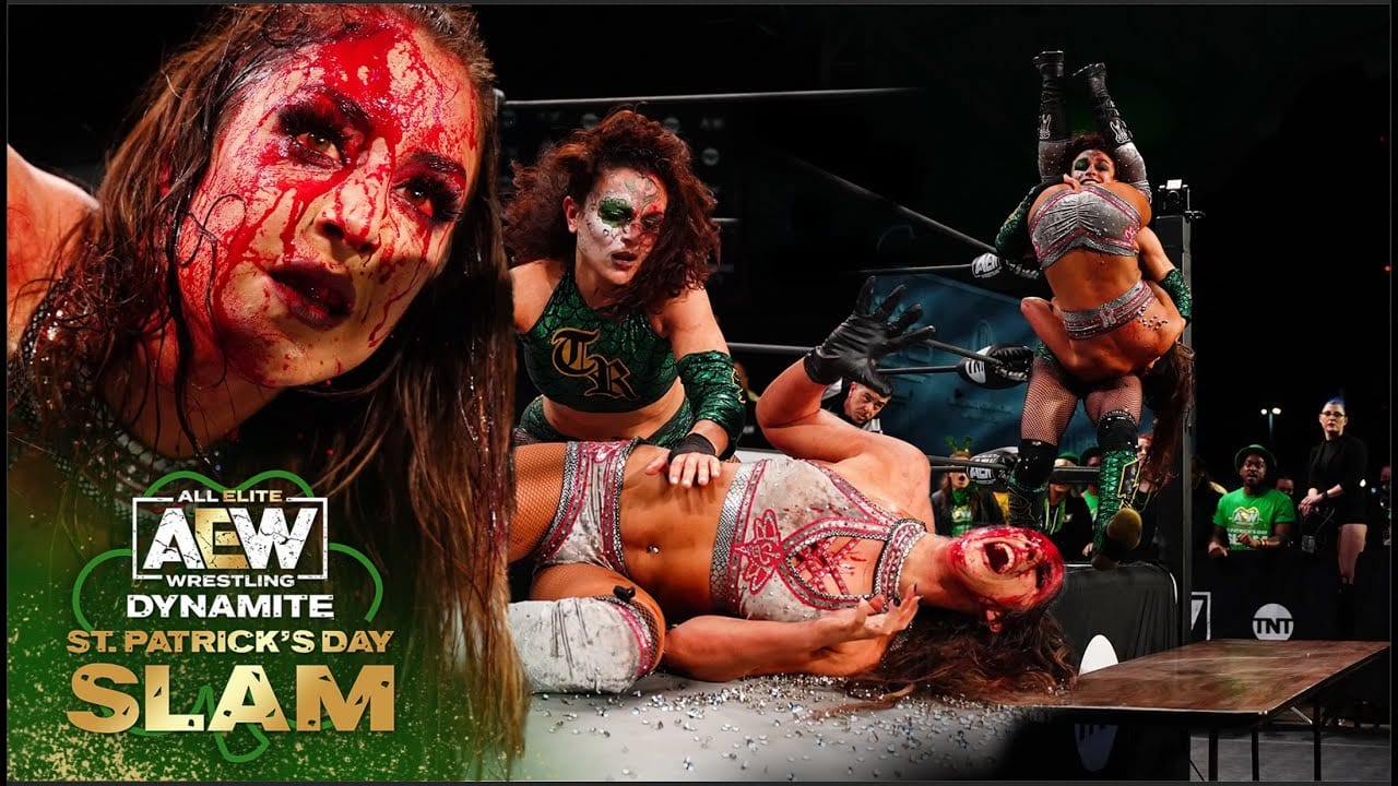 AEW Dynamite St. Patrick's Day Slam Results: Unsanctioned Lights Out Match