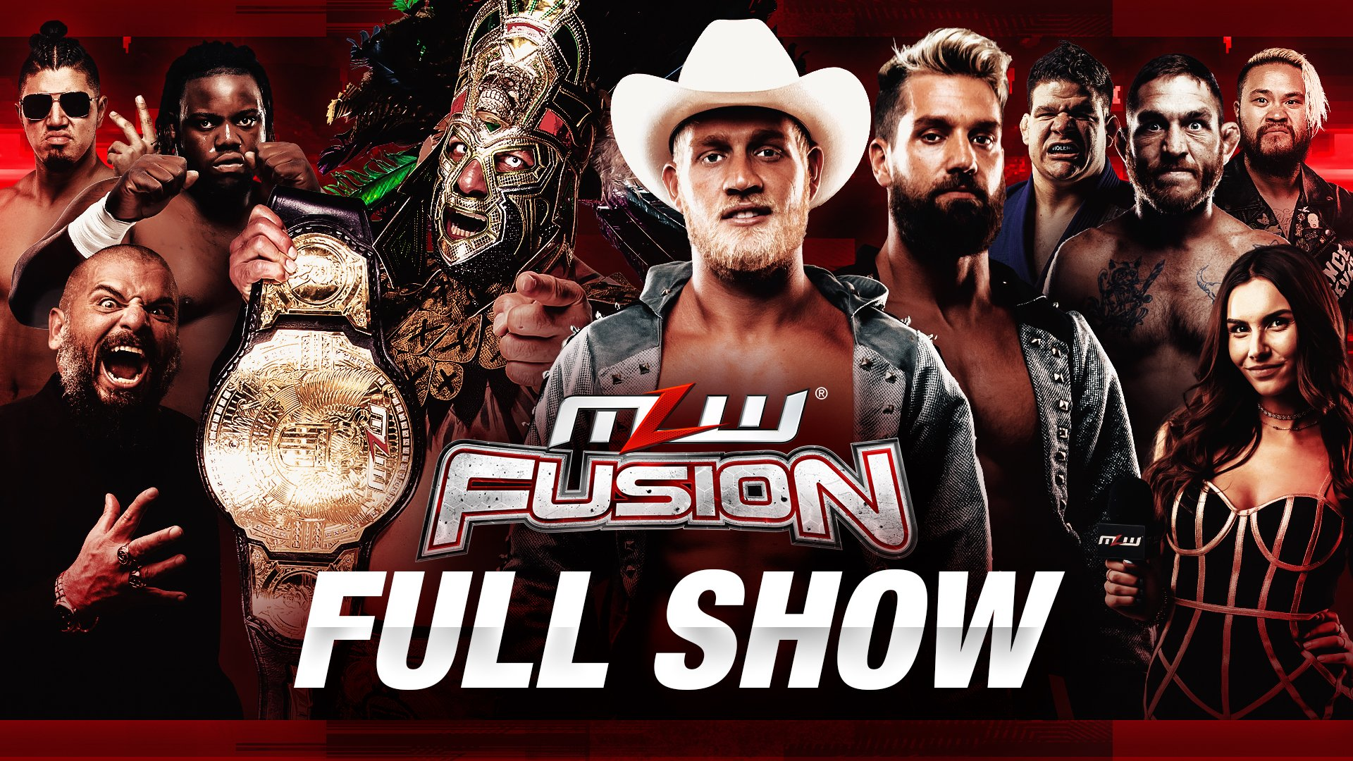 MLW Fusion Results (3/24): First-Ever Chain Ropes Match, Mil Muertes In Action, More
