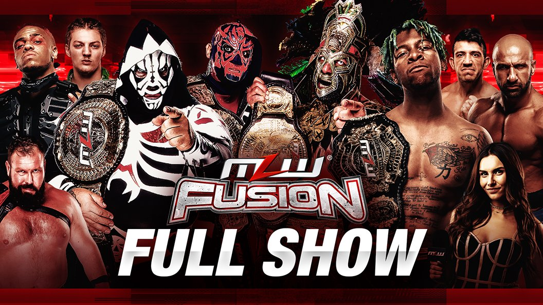 MLW Fusion Results (3/17): Two Big Title Defenses, Mil Muertes In Action, More
