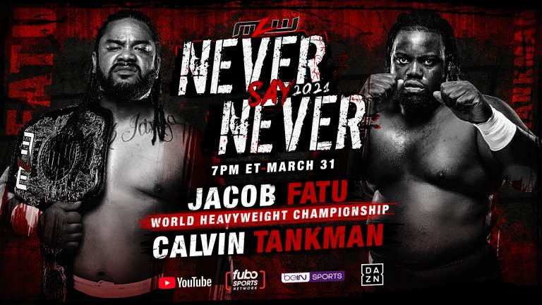 """MLW """"Never Say Never"""" Results: Fatu Vs. Tankman, Injustice Challenges CONTRA Unit"""