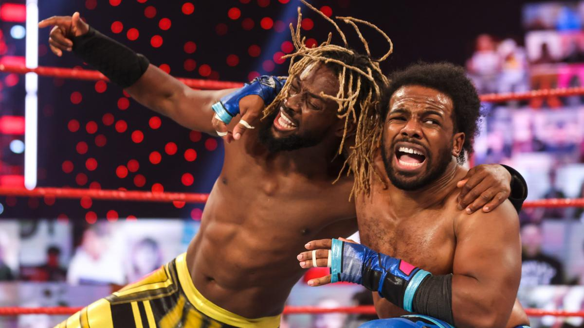 The New Day Wrestles After RAW Goes Off The Air