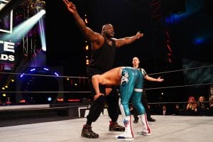 Shaq Reveals Which AEW Star He Wants To Face Next