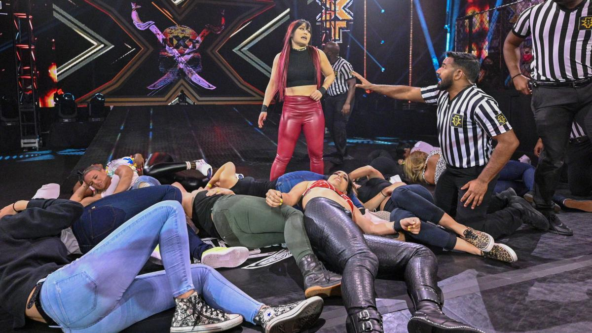 WWE NXT Results – Final Hype For Takeover, Battle Royal Main Event, Io Shirai, More