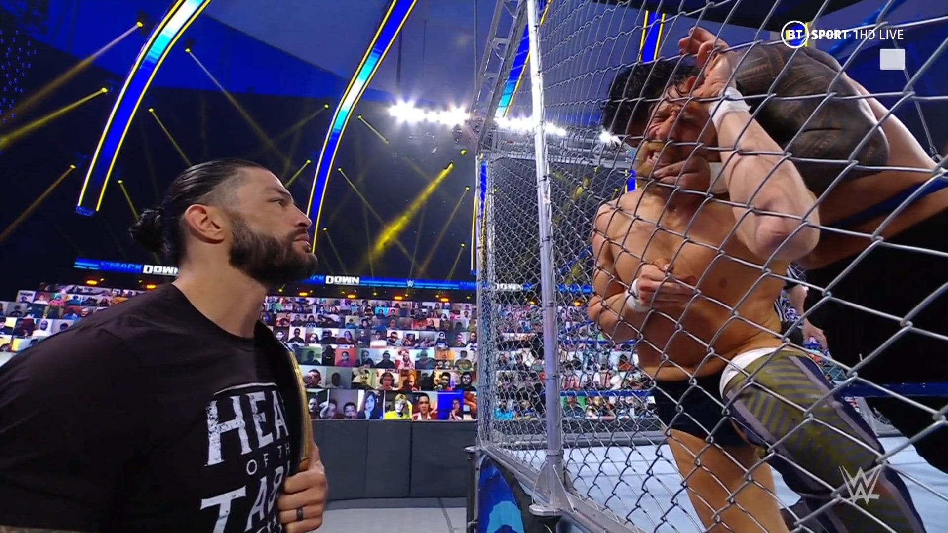 WWE SmackDown Results – Steel Cage Main Event, Shayna Baszler Vs. Bianca Belair, More