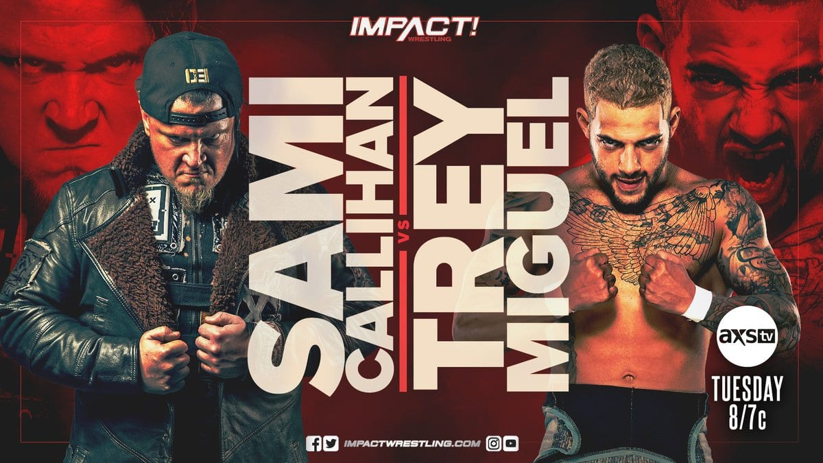 New Matches Announced For This Tuesday's Impact Wrestling
