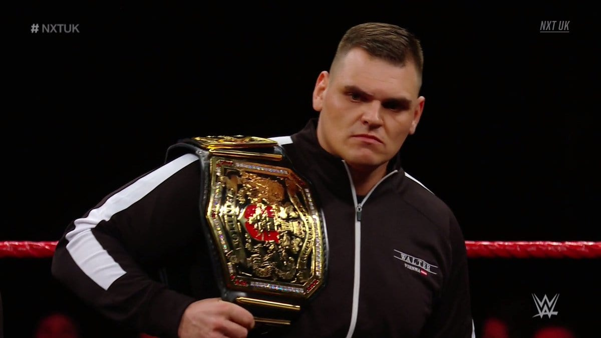 WALTER To Issue Statement On WWE NXT UK