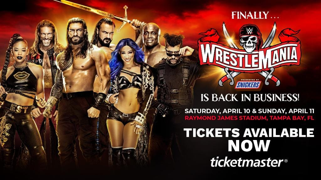 Charlotte Flair Removed From WrestleMania Ticket Graphics