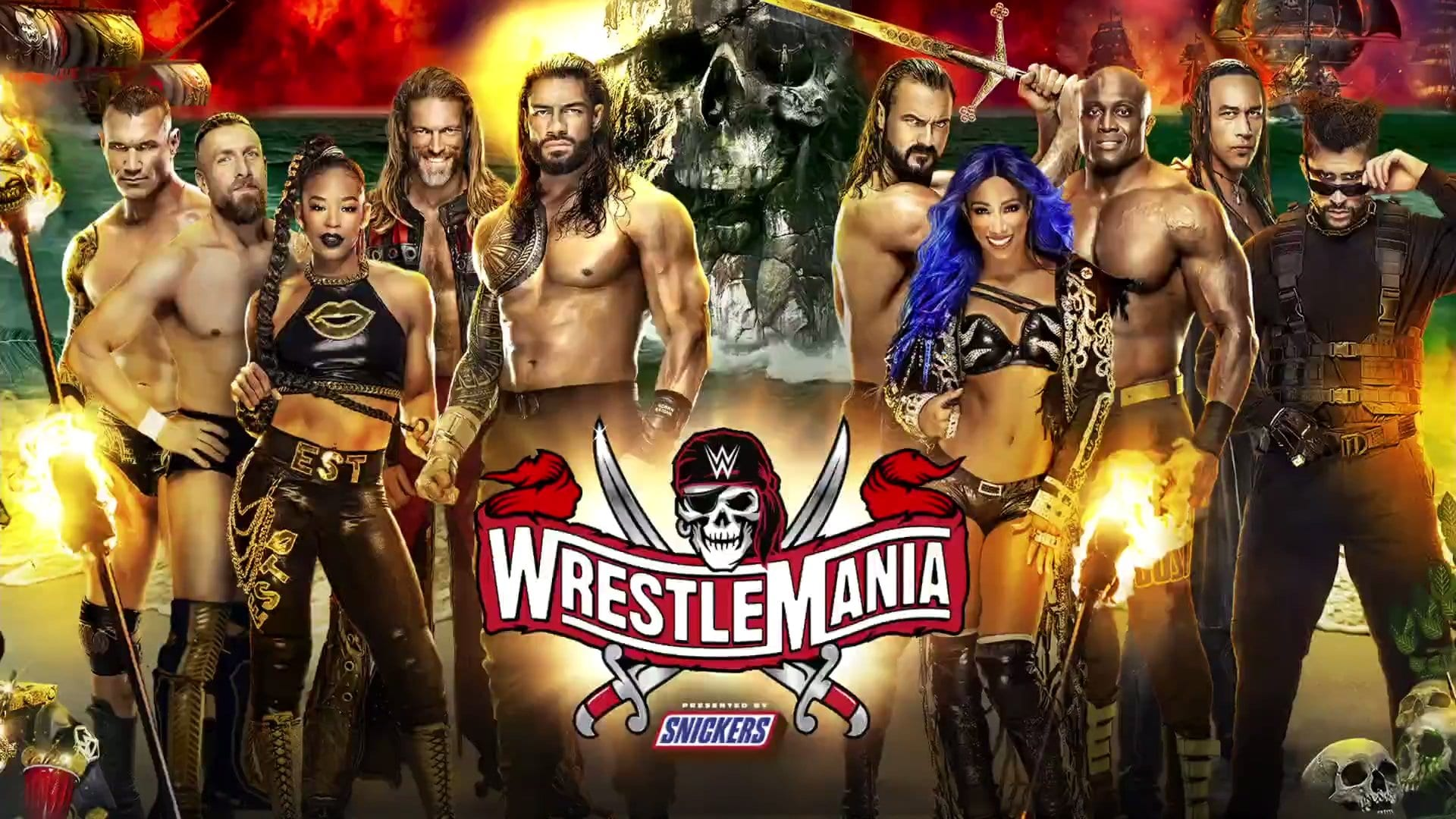 WWE Reveals WrestleMania 37 Matches For Night One And Night Two, Big Match Announced