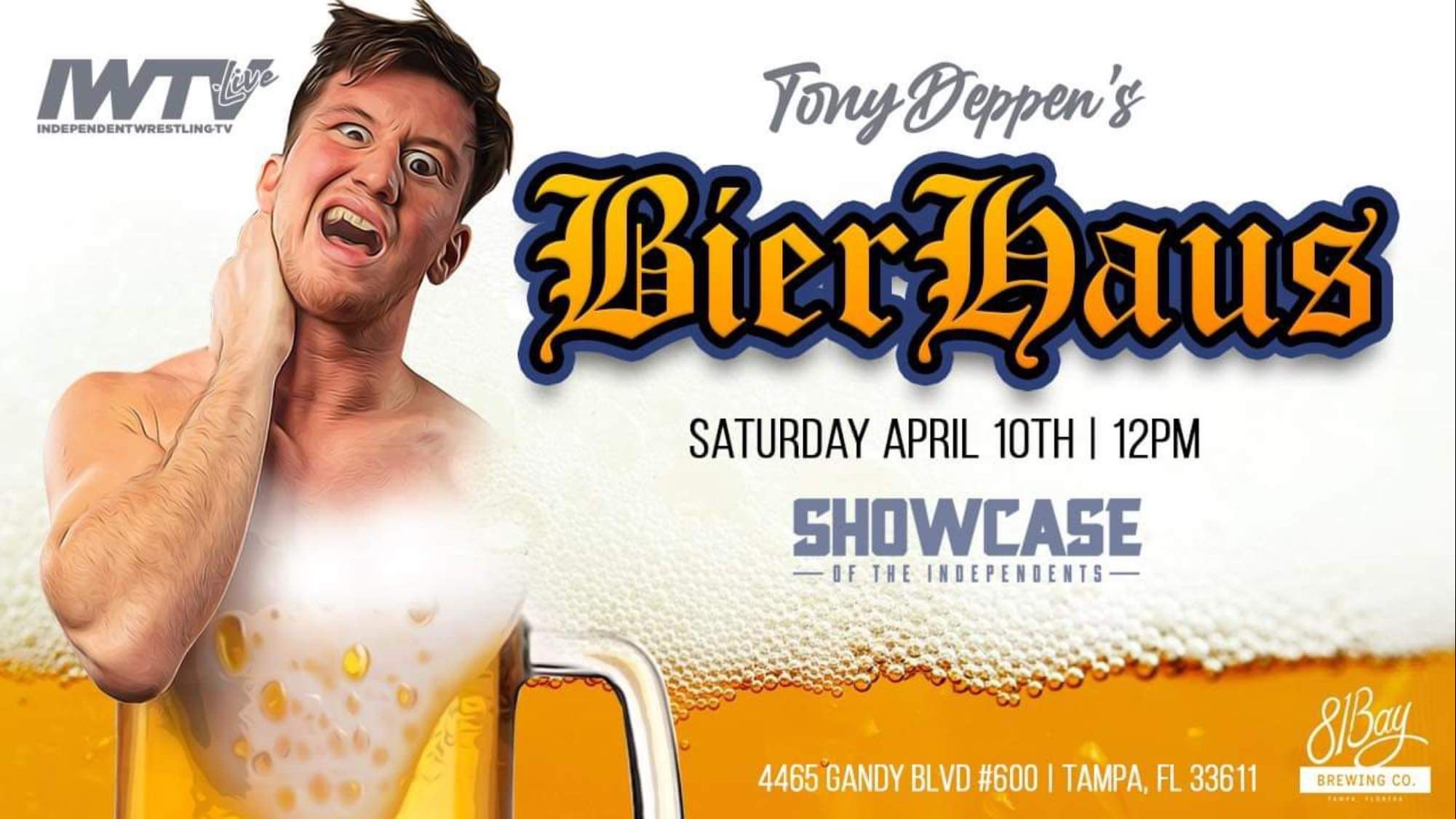 Tony Deppen Addresses Controversy That Led To His BierHaus Show