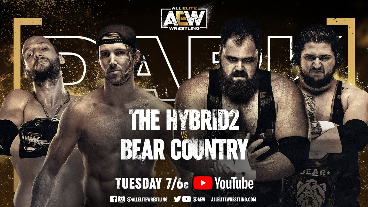 AEW Dark Results (4/6): TH2 Vs. Bear Country, Team Taz And Team Sea Stars In Action