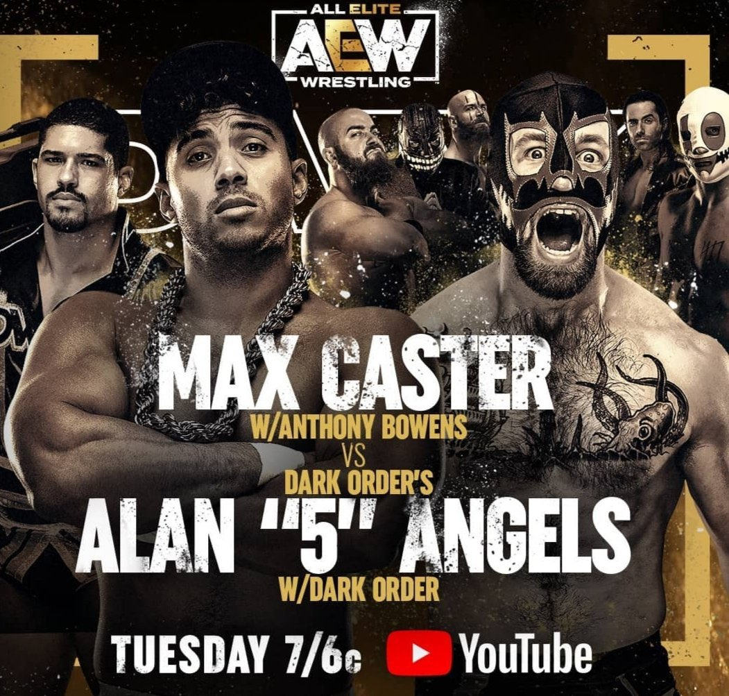 Several AEW Dark Matches Announced For This Week