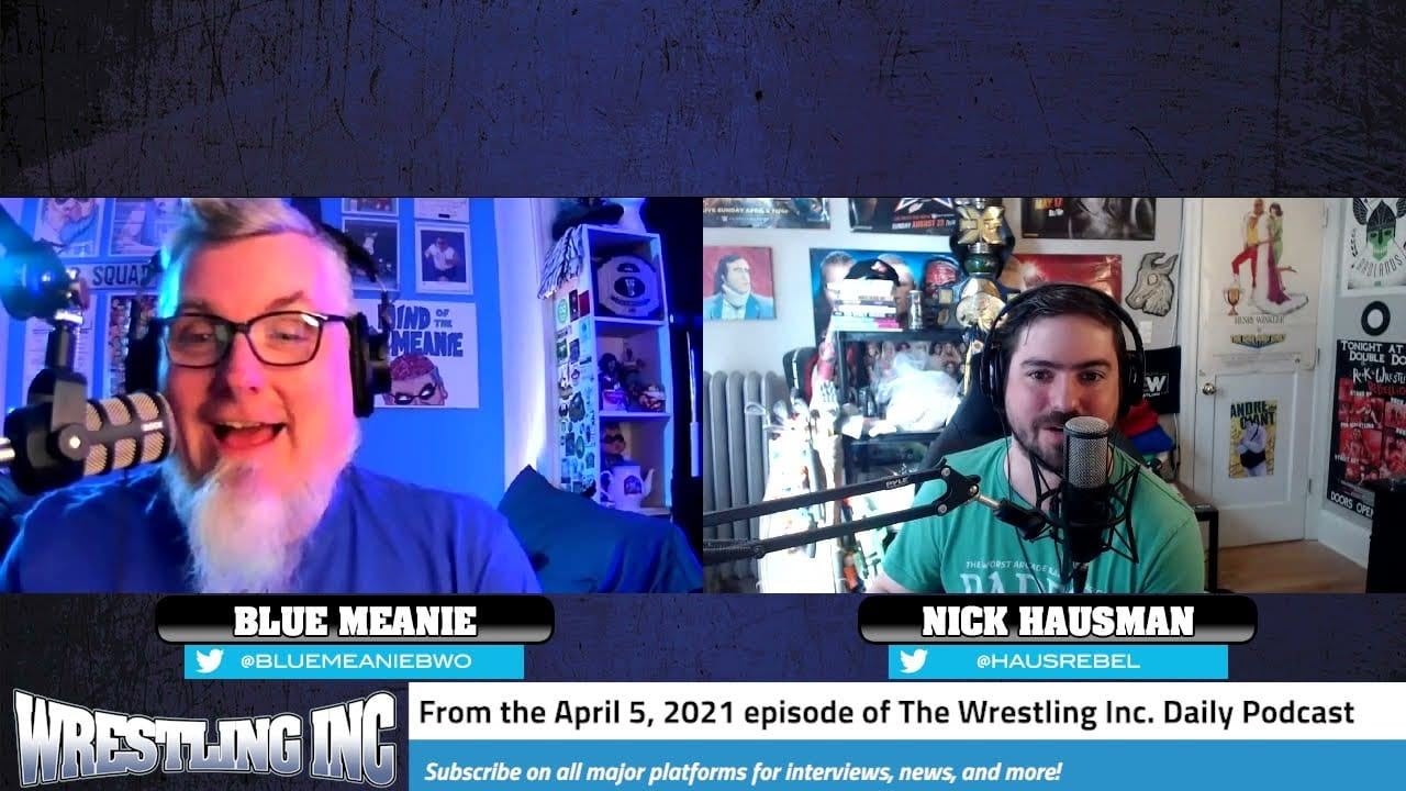WInc Daily: WWE WrestleMania 37 Updates, More On The Hurt Business (Feat. The Blue Meanie)
