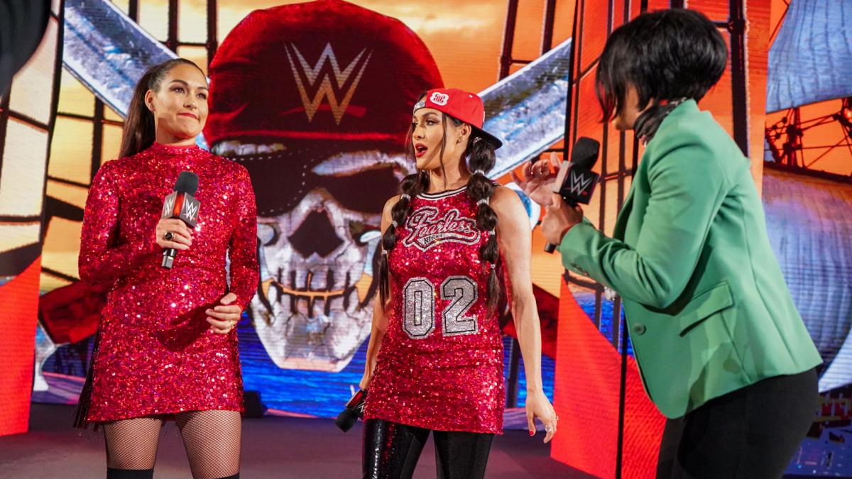 The Bella Twins Challenged By Bayley Over WWE Wrestlemania 37 Altercations 55