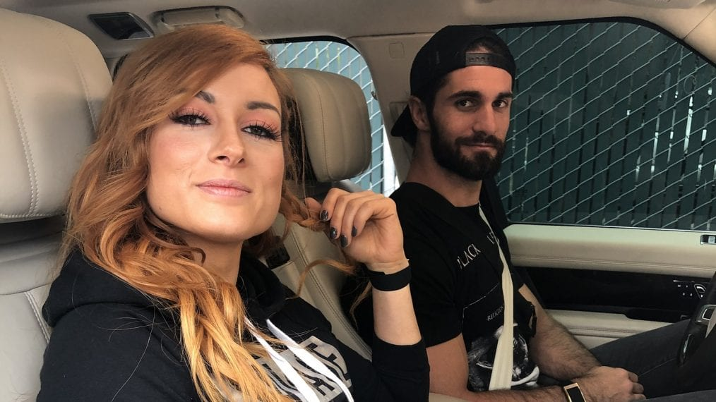 Photo: Seth Rollins And Becky Lynch Tease Getting Married Today