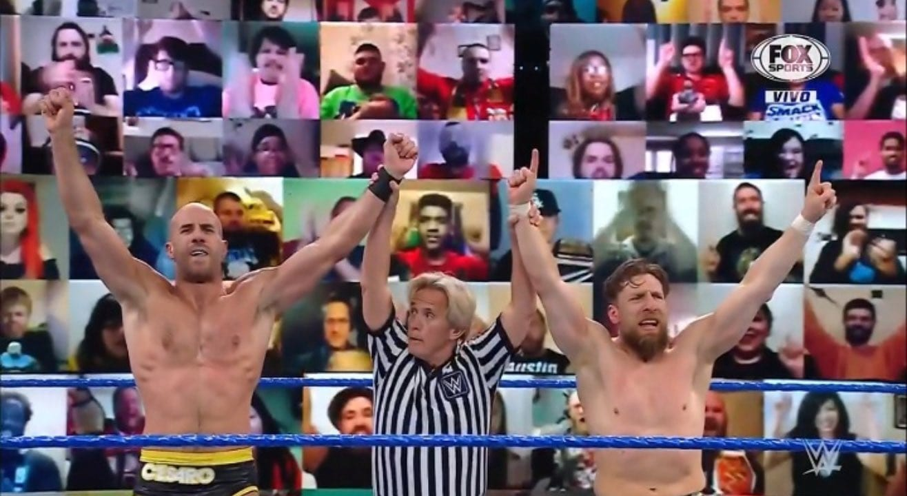 WWE SmackDown Results – Apollo Crews Defends, Cesaro And Daniel Bryan Team Up, More