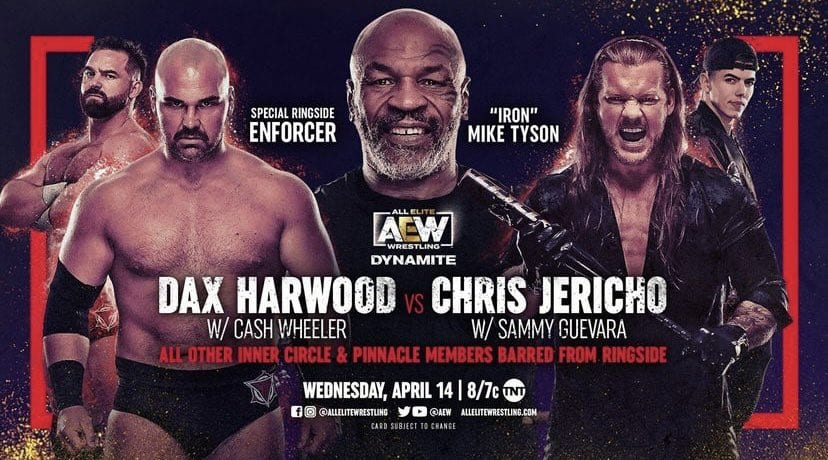 AEW Dynamite Results: Mike Tyson Returns, Two Title Matches