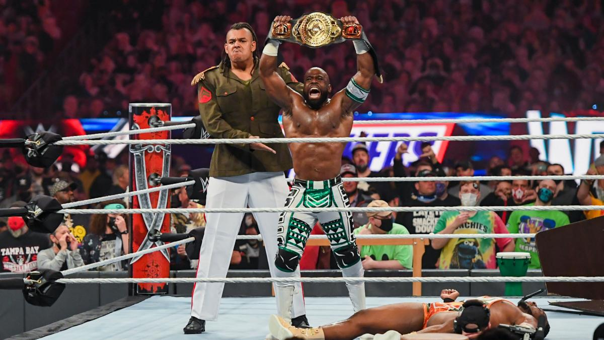 Apollo Crews On His New Muscle And Winning The WWE Intercontinental Title At WrestleMania