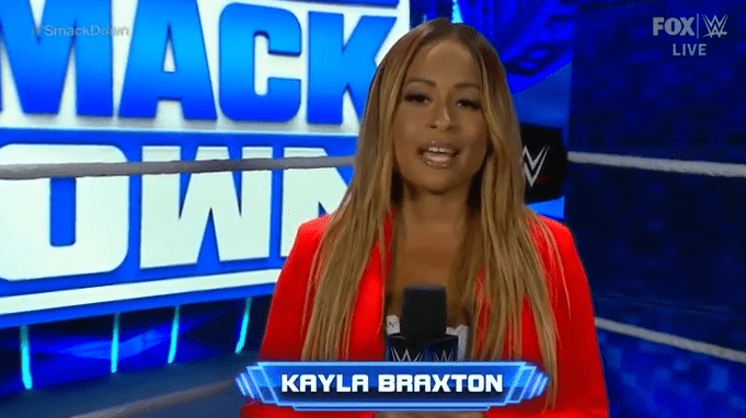 Kayla Braxton Explains Why She Looked Darker On Smackdown