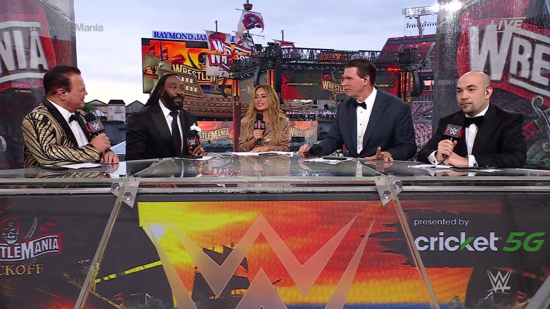 Opening Match Revealed For WrestleMania 37 Night Two, Weather Note, Kickoff Pre-show Video