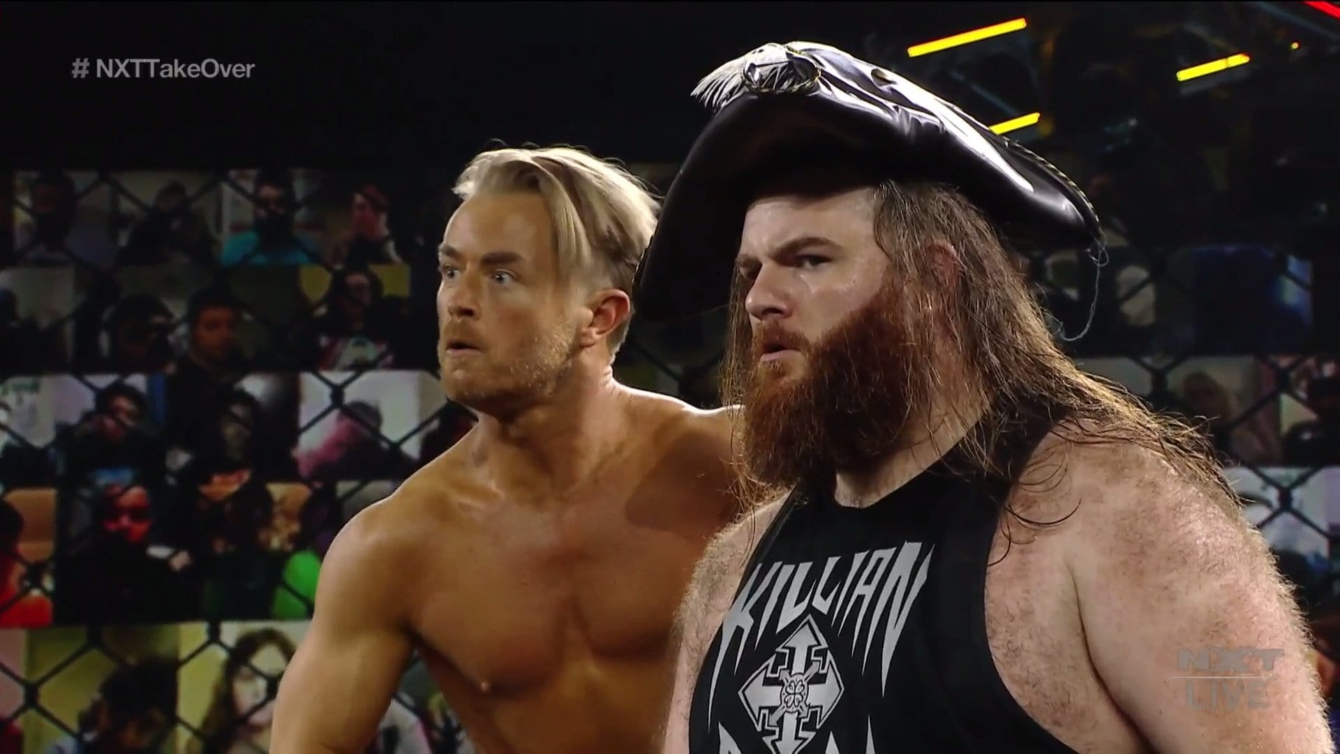 """New #1 Contenders Crowned On The WWE NXT """"Takeover: Stand And Deliver"""" Night Two Kickoff"""