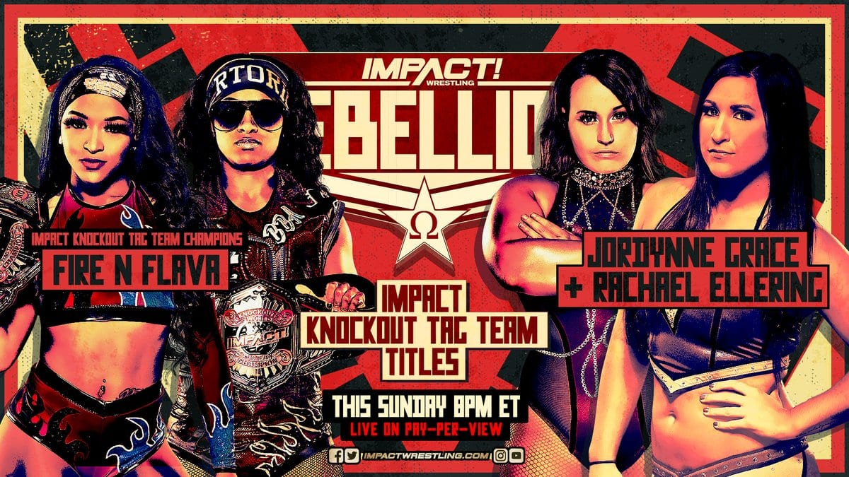Titles Change Hands At Impact Rebellion