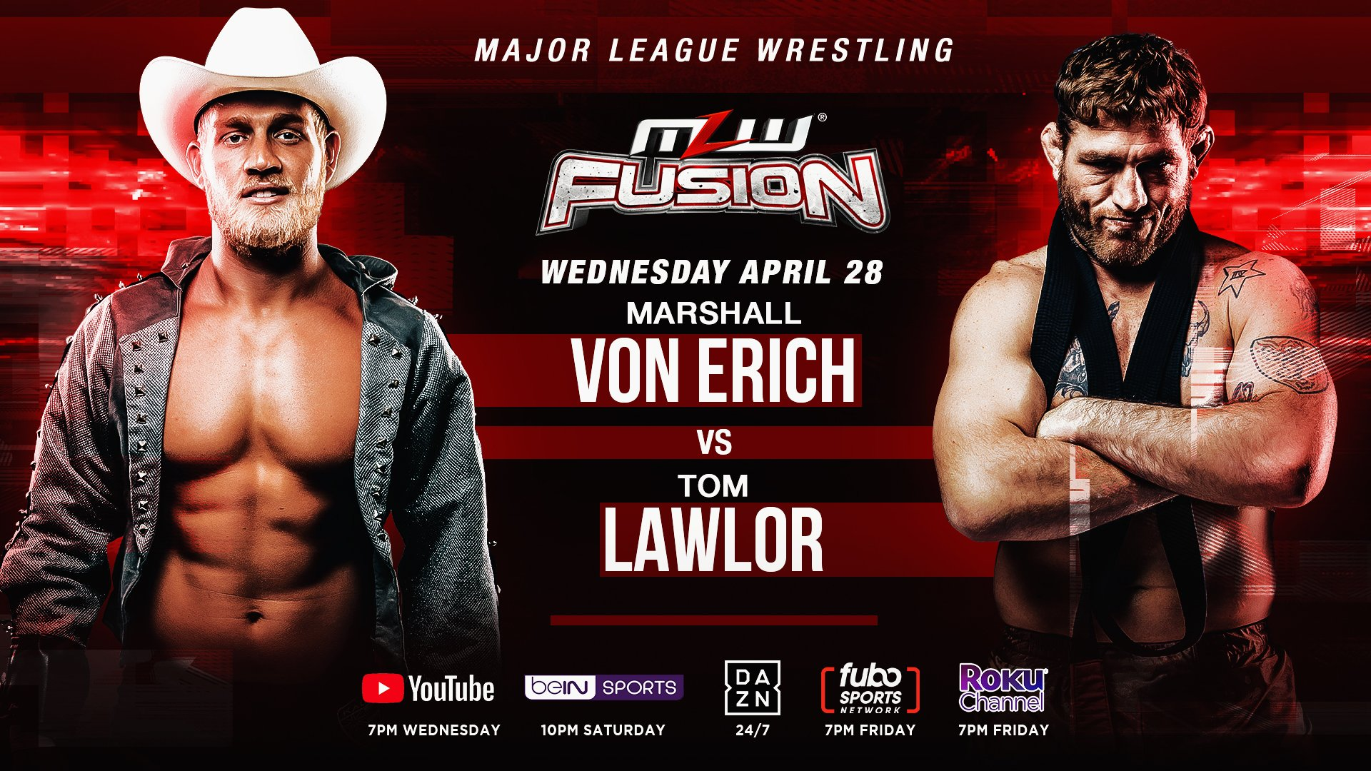 MLW Fusion Live Results (4/28): Tom Lawlor & Marshall Von Erich Clash In The Main Event